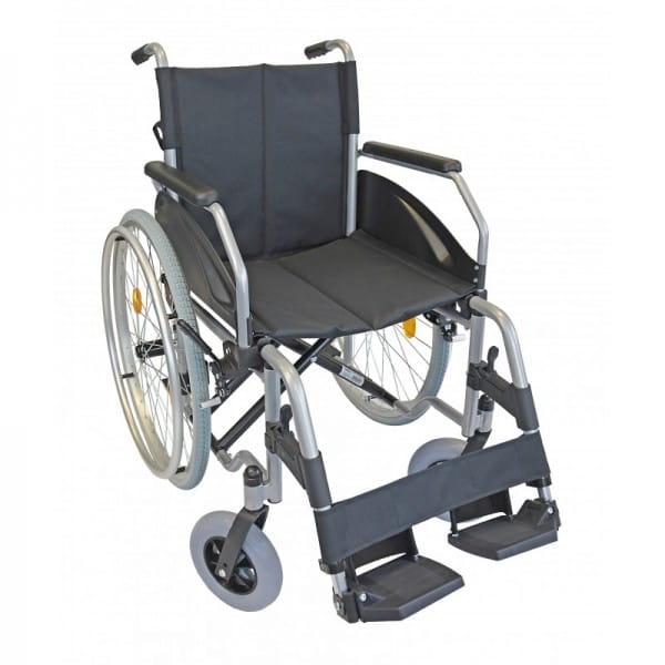 Tantum Rollstuhl Stahl Leichtgewicht Silber