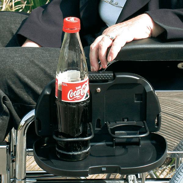 Klapptablett / Getränkehalter für 0,5 Liter Flaschen | Ruhrrollt