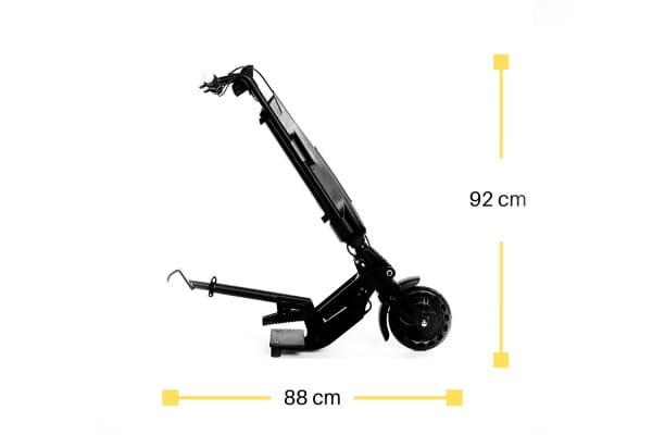 Rollstuhlantriebsrad Zuggerät bei Ruhrrollt